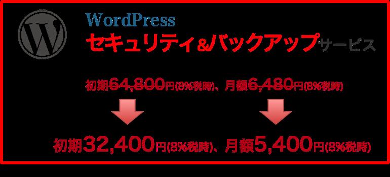 WordPressセキュリティ&バックアップサービス